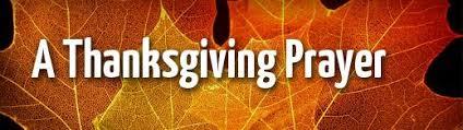 Thanksgiving Prayer then bx press dot com